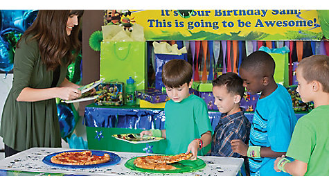 TMNT Pizza Party Idea