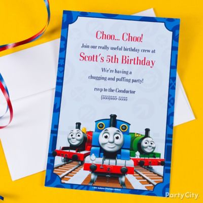 Thomas the Train Party Ideas Party City Party City