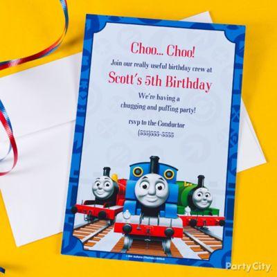 Thomas Buffet Train Idea Cake Cupcake Ideas Thomas Party – Thomas Train Birthday Invitations