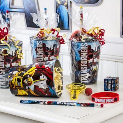 Transformers Favor Cup Idea