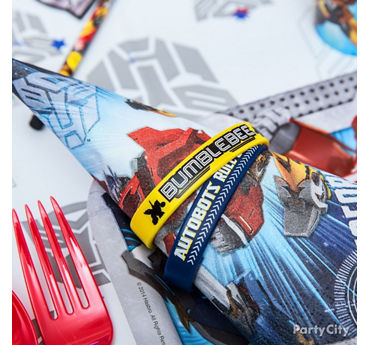 Transformers Napkin Idea