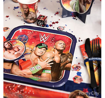 WWE Place Setting Idea