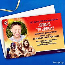 WWE Custom Invite Idea