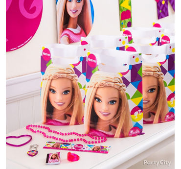 Barbie Favor Pack for 8 Idea