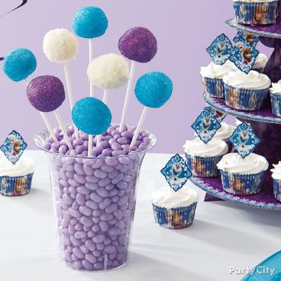 Frozen Party Table Idea Party City