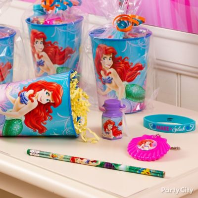Little Mermaid Favor Cup Idea
