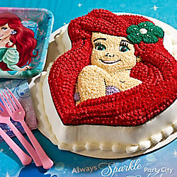 Little Mermaid Form Cake How To