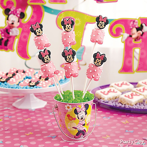 Minnie Mouse Marshmallow Pops How To
