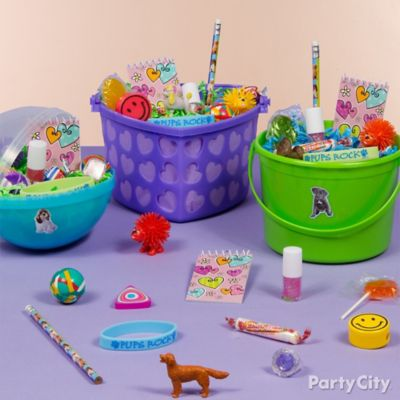 Party Pups Favor Bucket Ideas