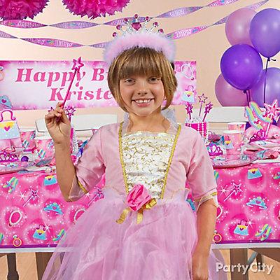 Princess Birthday Costume idea