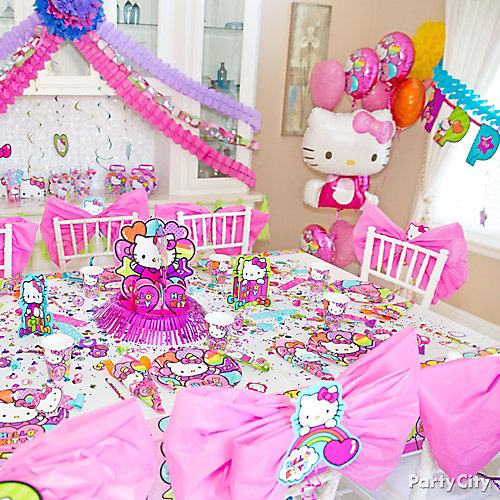 Hello Kitty Party Table Idea