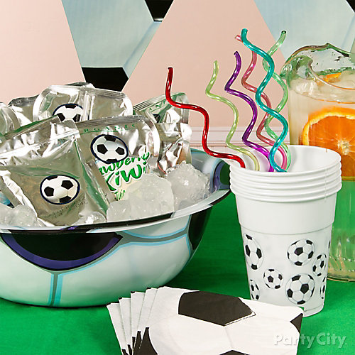 Soccer Drink Cooler Idea