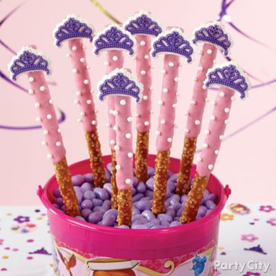 Sofia the First Pretzel Pops How To