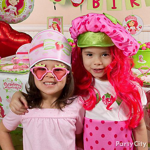 Strawberry Shortcake Costume Idea