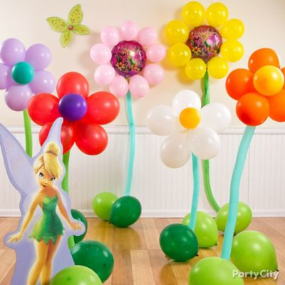 Tinker Bell Flower Balloon DIY