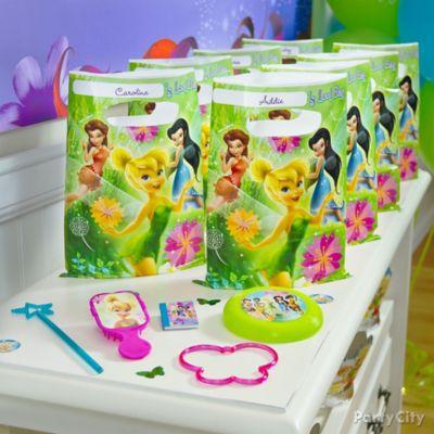 Tinker Bell Favor Pack for 8 Idea