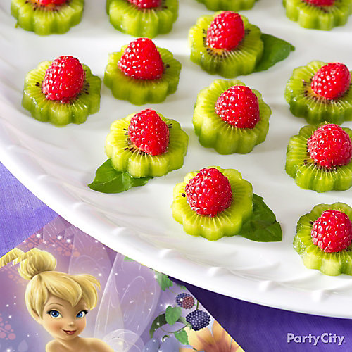 Tinker Bell Fruit Flowers Idea