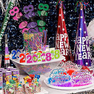 Colorful New Year's Eve Party Ideas