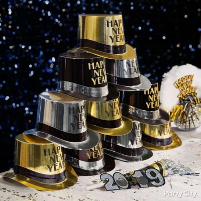 NYE Hat Pyramid Idea