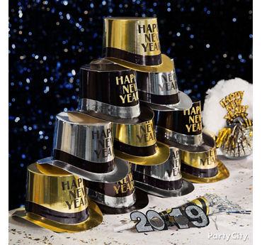 NYE Hat Pyramid Idea