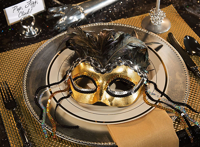 New Year's Eve Masquerade Party Ideas