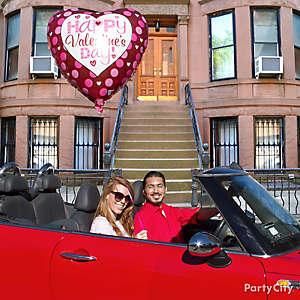 Valentine's Day Giant Balloon Idea