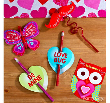 Classroom Pencil Valentines Idea