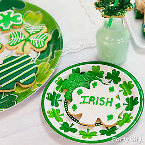 Shamrock Sugar Cookies Idea
