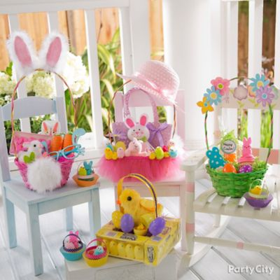 Easter Party and Basket Ideas
