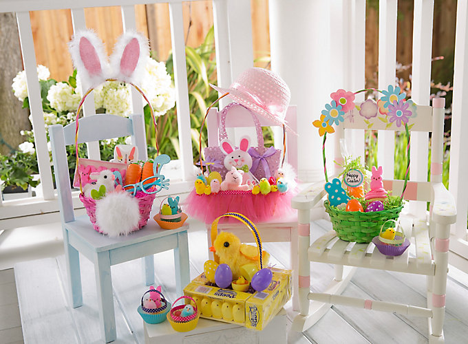 Easter Basket Decoration Ideas Best Home Design 2018