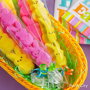 Peeps Skewers Easter Favors Idea