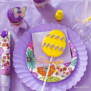 Easter Egg Cookie Pop Idea