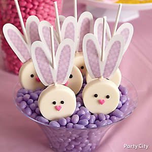 Bunny Cookie Pops How To