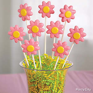 Daisy Candy Pops How To