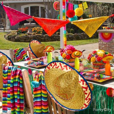 Mexican Party Decorating Ideas