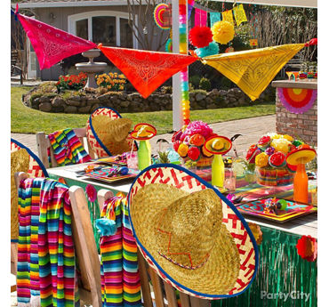 Fiesta Celebration Patio Decorating Ideas