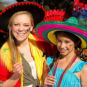 Mexican Party Dress Up Ideas