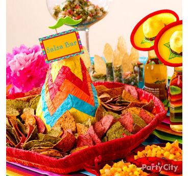 Tortilla Chip Sombrero Tray Idea