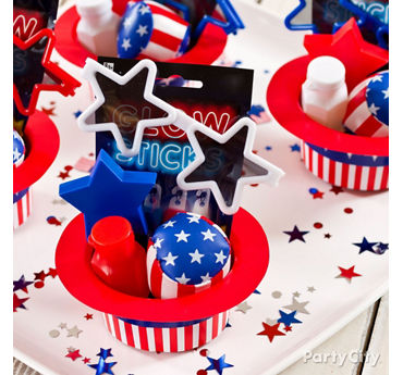 4th of July Favors Idea