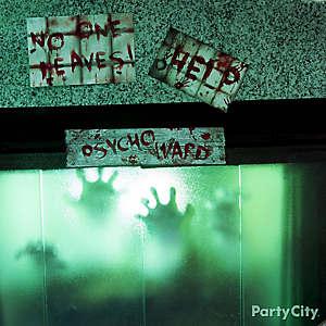 Halloween Asylum Psych Ward Hearth Idea