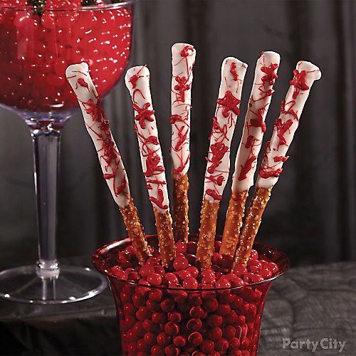 Bloody Good Candy Pretzels How To