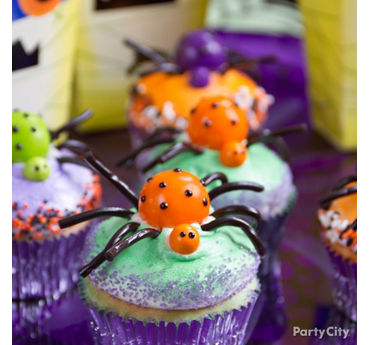 Friendly Gumball Spider Cupcake How To