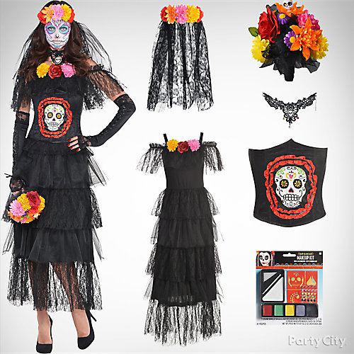 Women's Day of the Dead Costume Idea