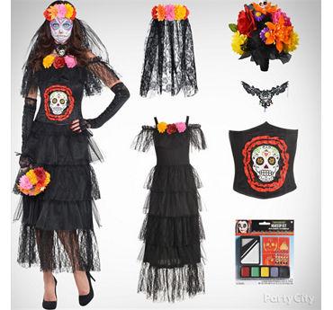 Women's Day of the Dead Costume Idea