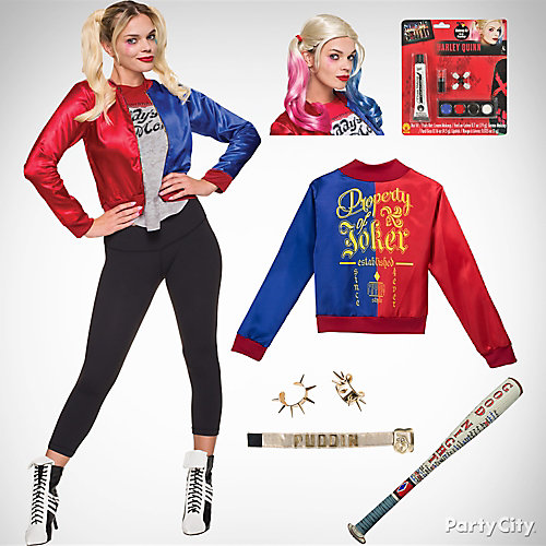 Women's Harley Quinn Costume Idea