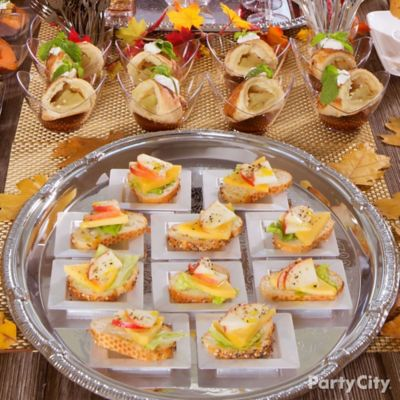 Apple and Cheese Mini Toasts How To