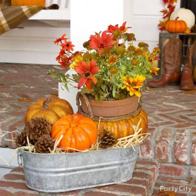 Plentiful Pumpkins Decorating Idea