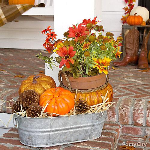Plentiful Pumpkins Decorating Idea