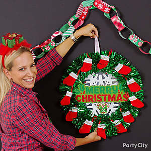 DIY Christmas Wreath Idea