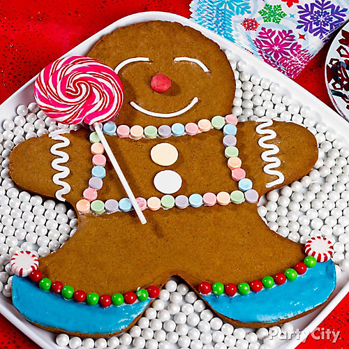 Gingerbread Man Decorating Idea